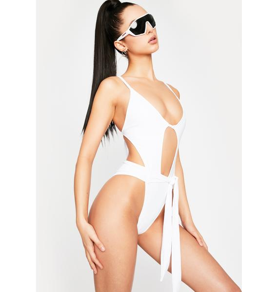 Chill Beach Access Cut Out Swimsuit