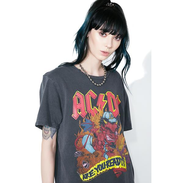 Junk Food Clothing AC/DC Are You Ready Tee