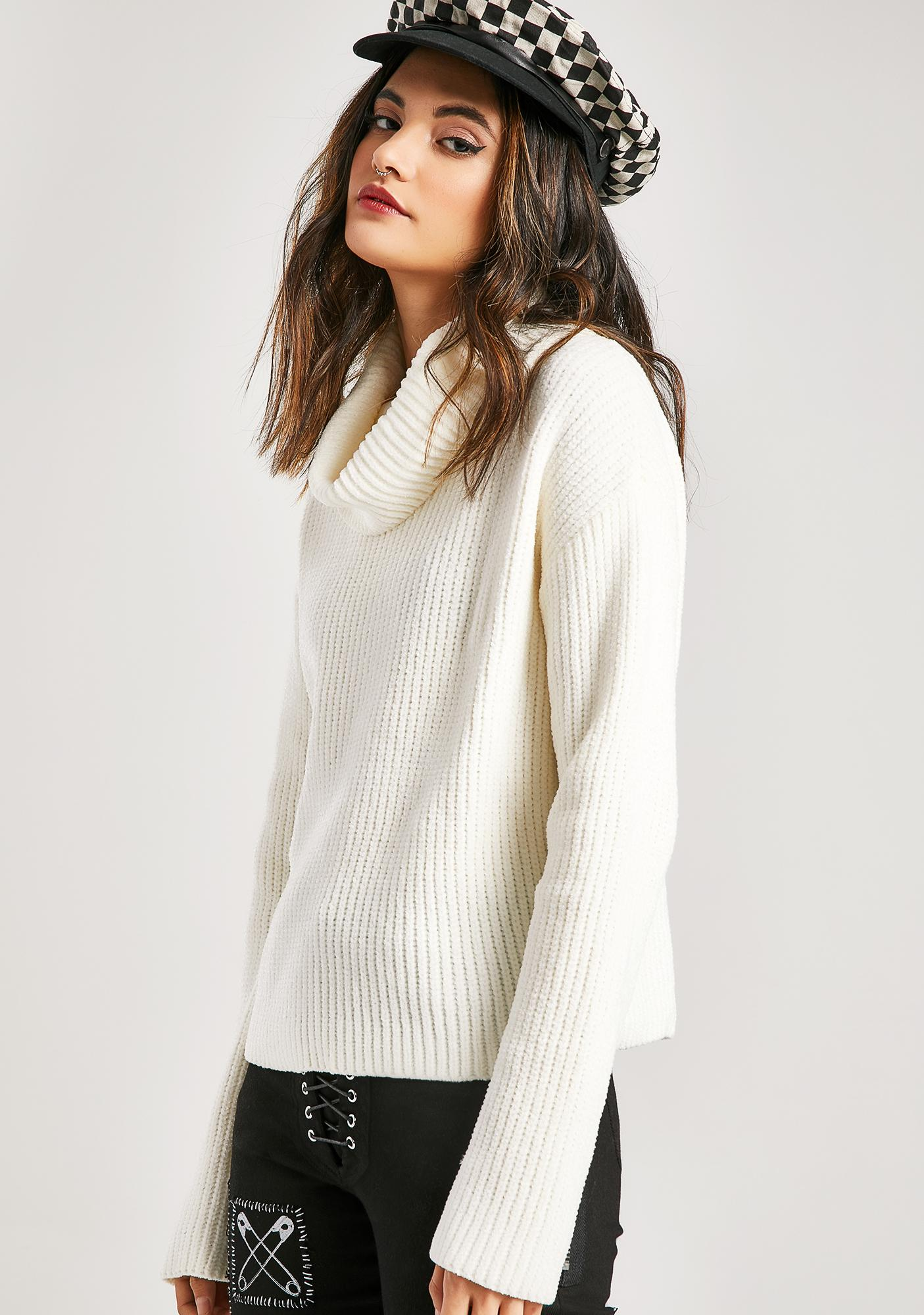Cozy AF Knit Sweater