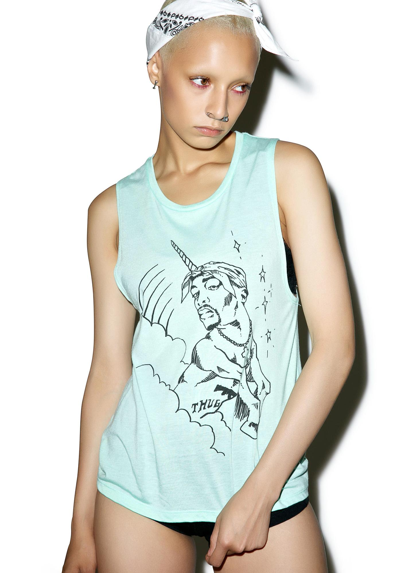 Pac Unicorn Tank Top