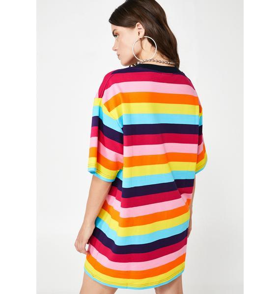 Pleasures Inbox Striped Shirt