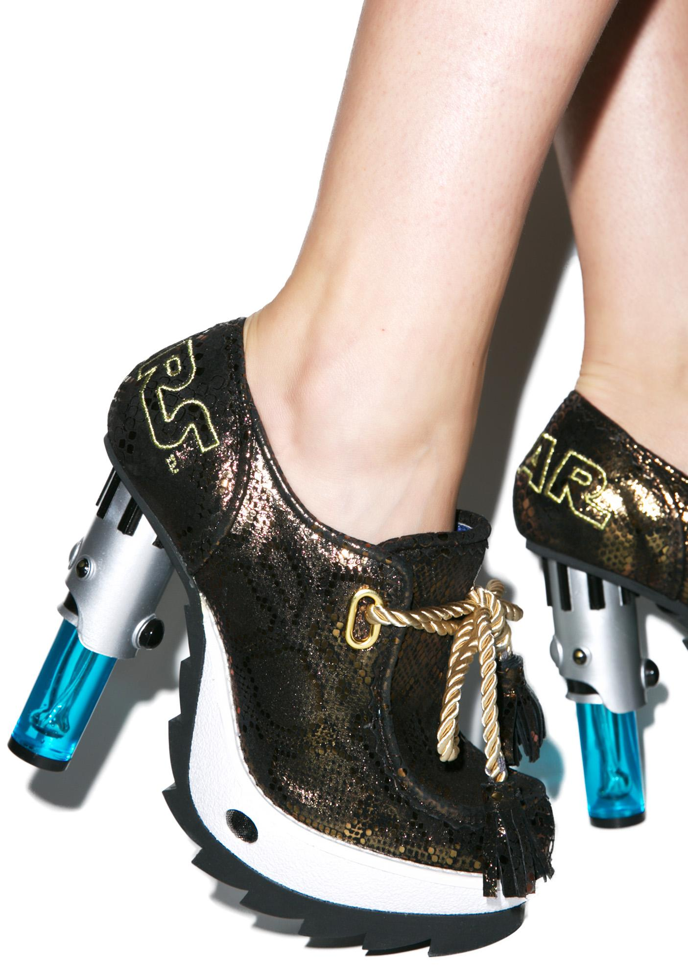 Irregular Choice Skywalker Booties