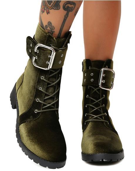 Savaged Combat Boots