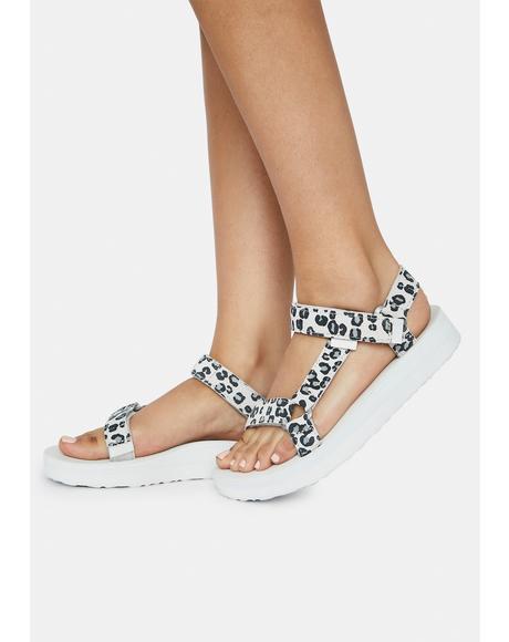 Leopard Midform Universal Sandals