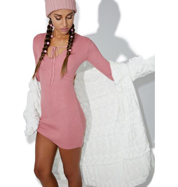 For Love & Lemons Delancey Mini Dress