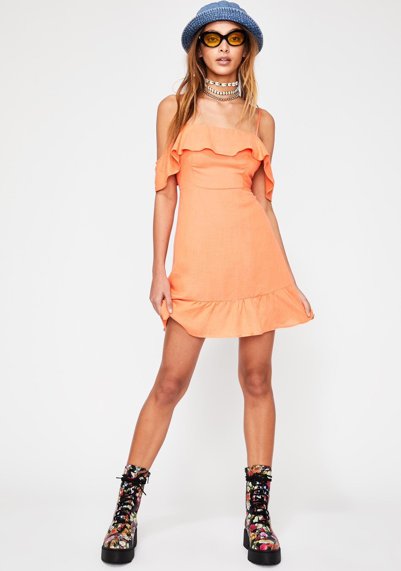 Say ILY Ruffled Dress