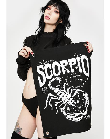 Scorpio Mini Tapestry