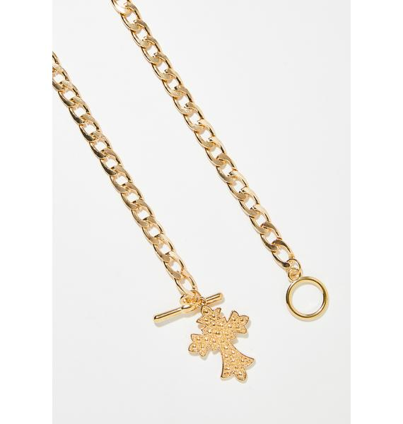 Icon Living Toggle Necklace