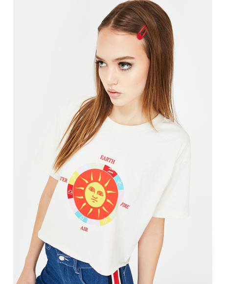 Sun Graphic Relaxed T-Shirt