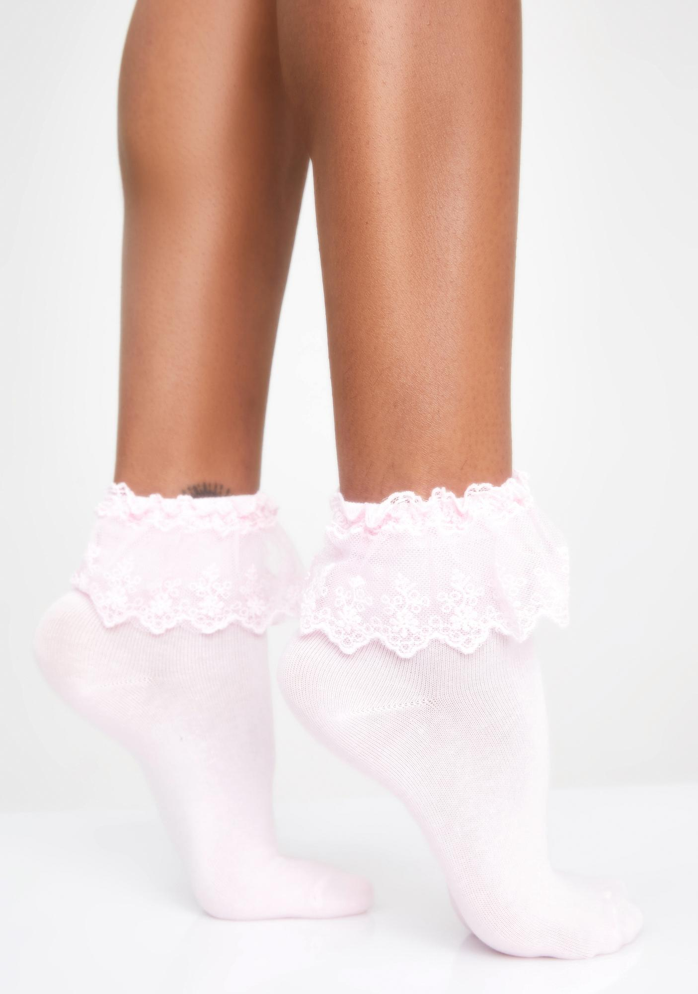 Sugar Spoiled Rotten Ruffle Socks