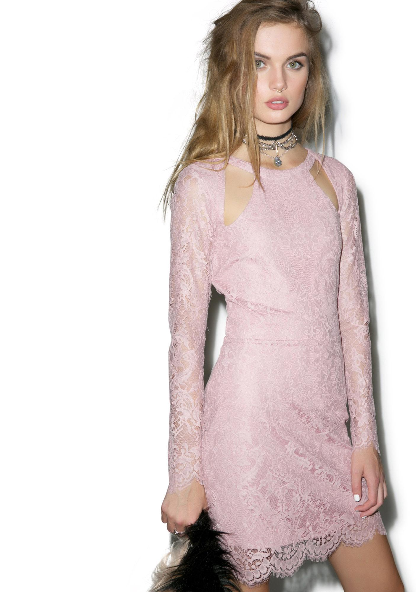 For Love & Lemons Eternal Love Lace Dress