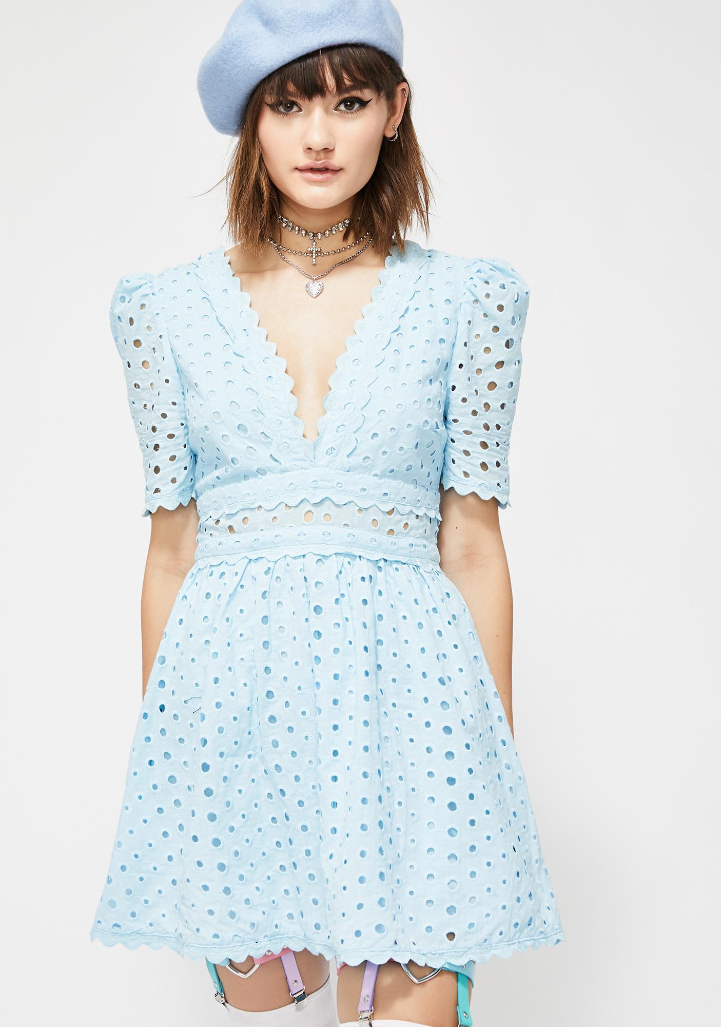 92d5930c1ed Bubble Pop Electric Mini Dress