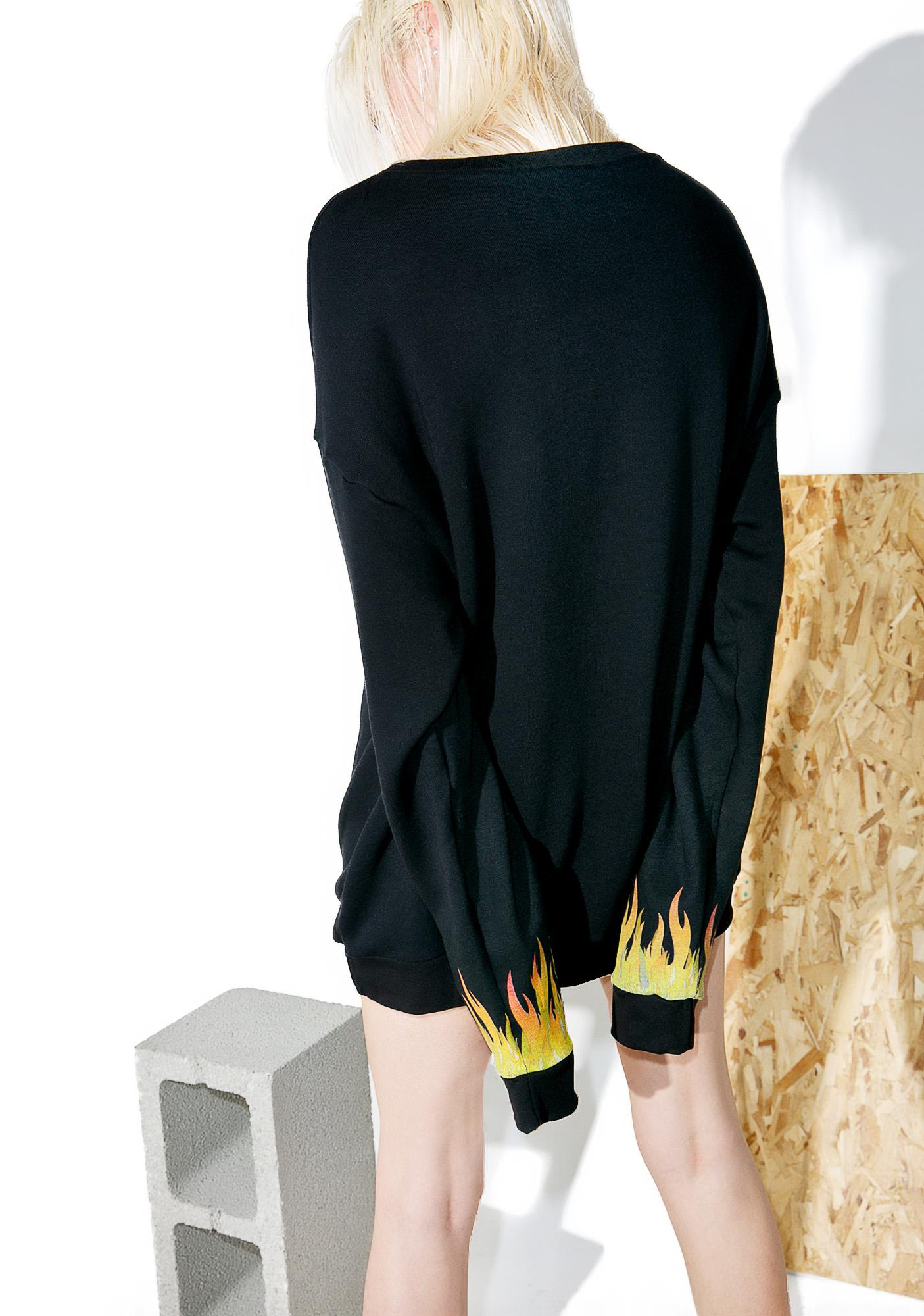 Hardware LDN Flame Sweatshirt