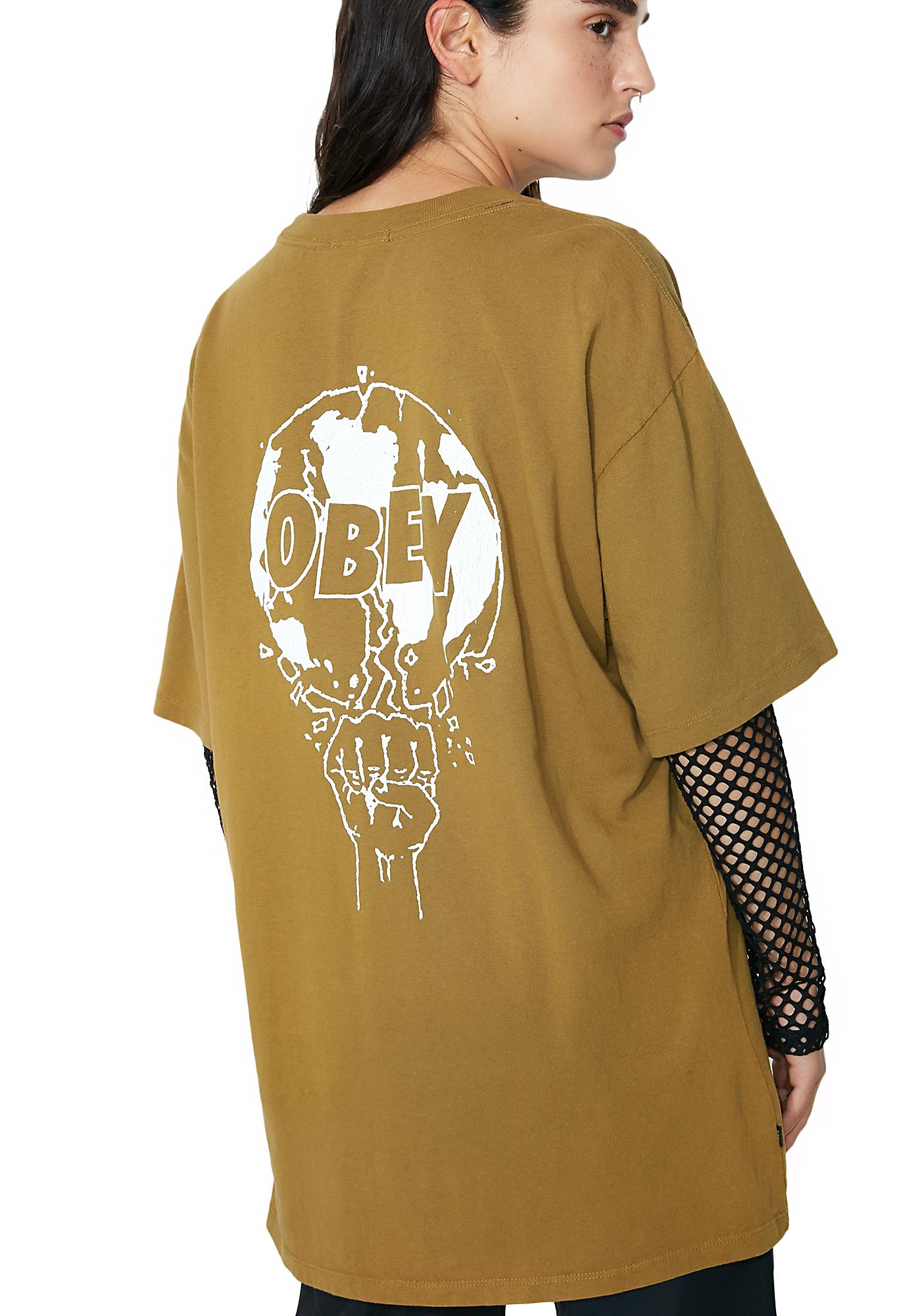 Obey Smash It Up Box Pigment Tee