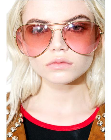 Flight Club Aviator Sunglasses