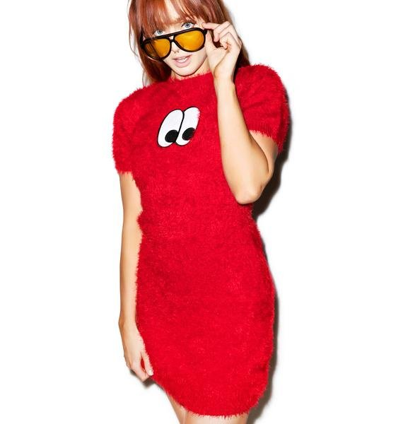 Lazy Oaf Eye Furface Dress