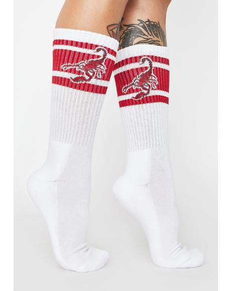 Temptations Crew Socks