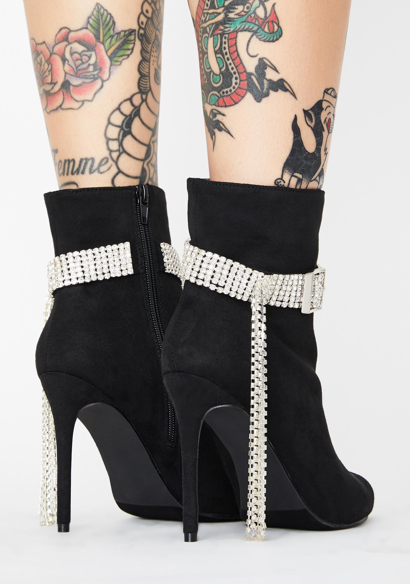 Sugar Mami Rhinestone Boots