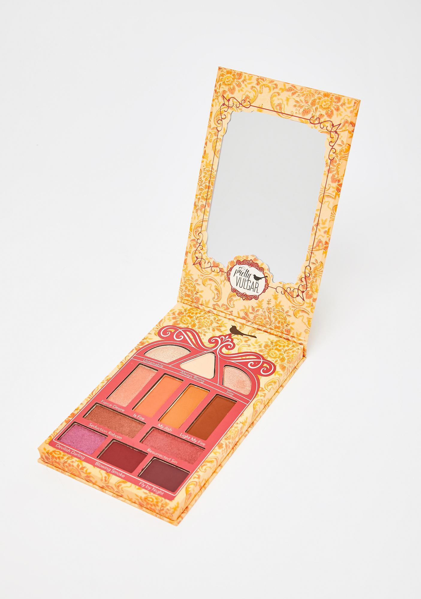 Pretty Vulgar Cosmetics Phoenix Rising Eyeshadow Palette