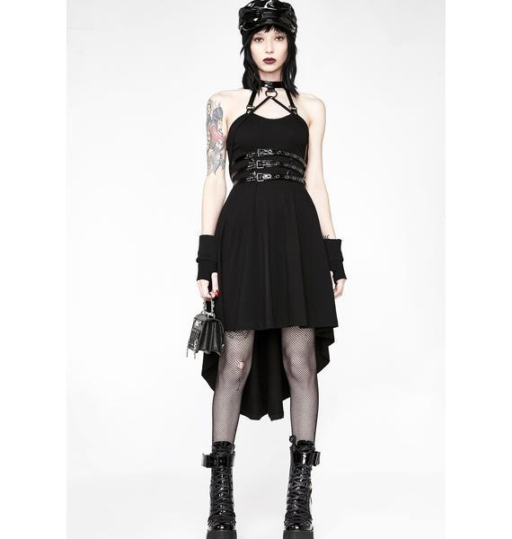 Punk Rave Punk Spine Shaped Dress Dolls Kill