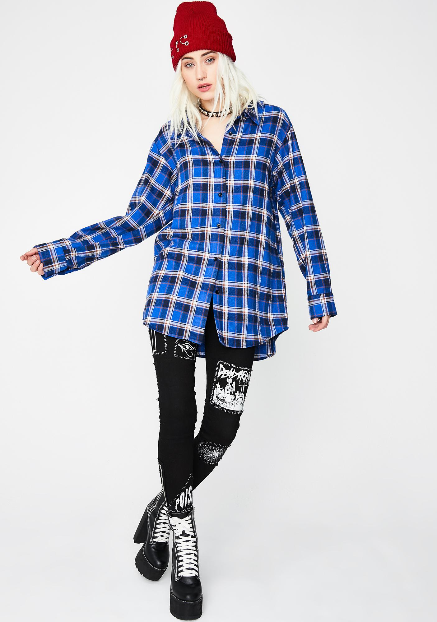 Rude Renegade Flannel Shirt