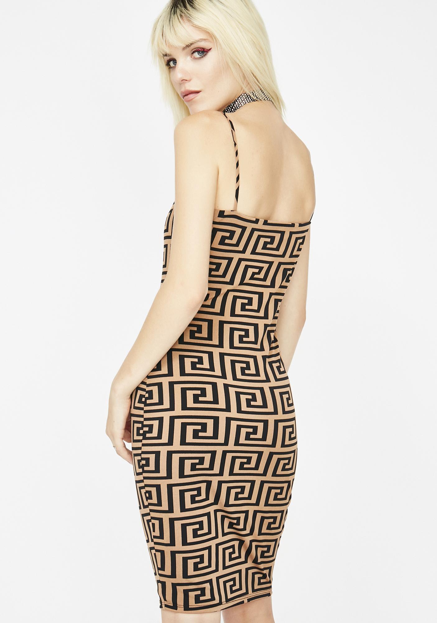 Fauxsace Bodycon Dress