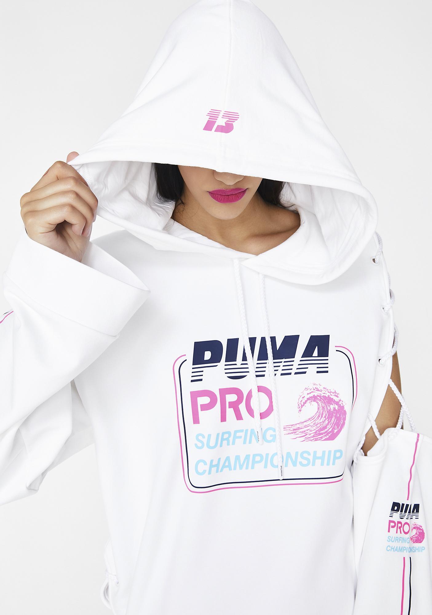 PUMA FENTY PUMA By Rihanna Side Laced Hoodie