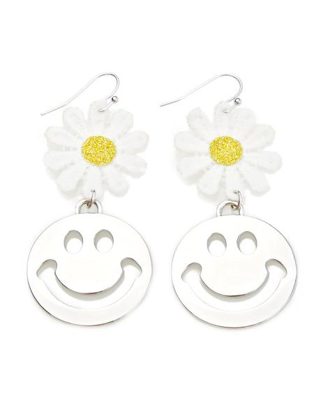 Cheer Yew Up Drop Earrings