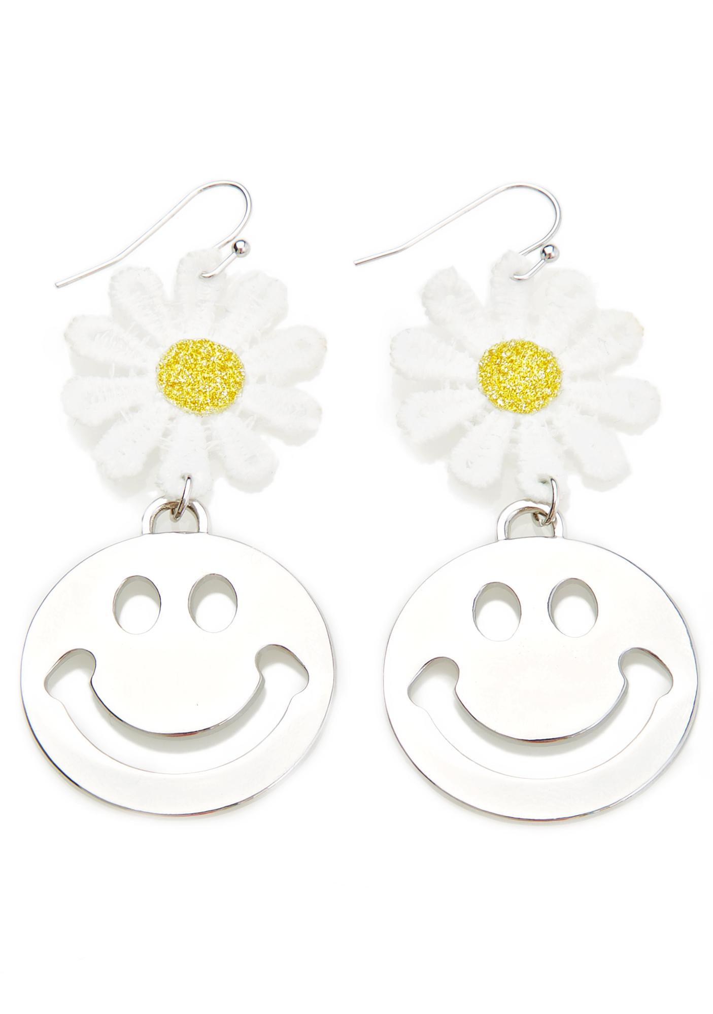 Cheer Yew Up Drop Earrings