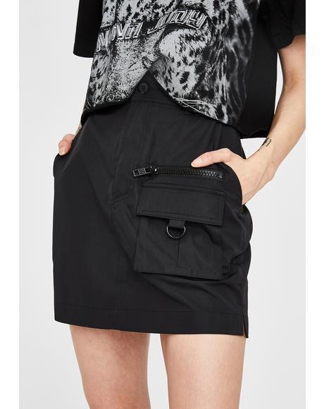 Matira Cargo Skirt