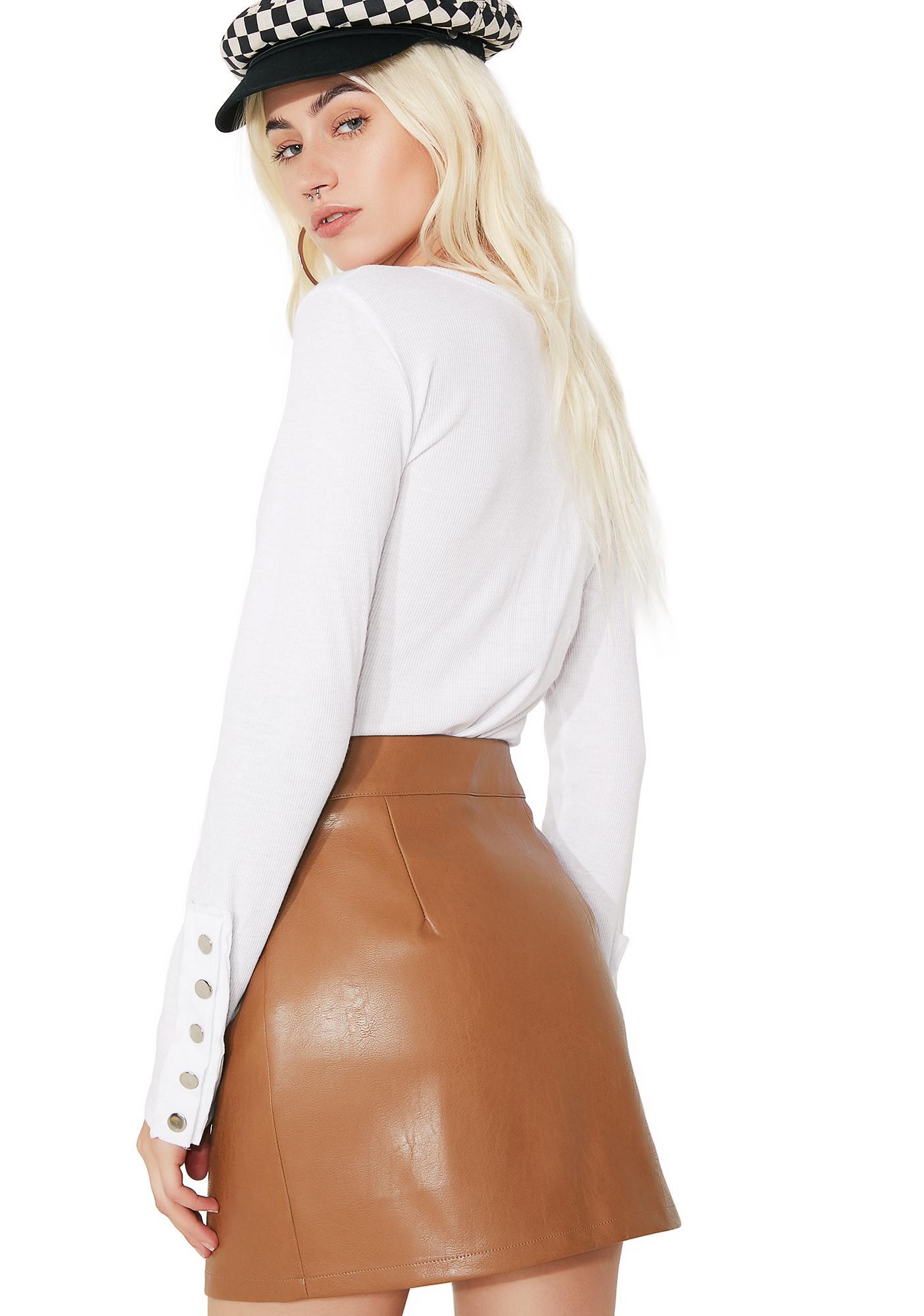 Zip It Mini Skirt