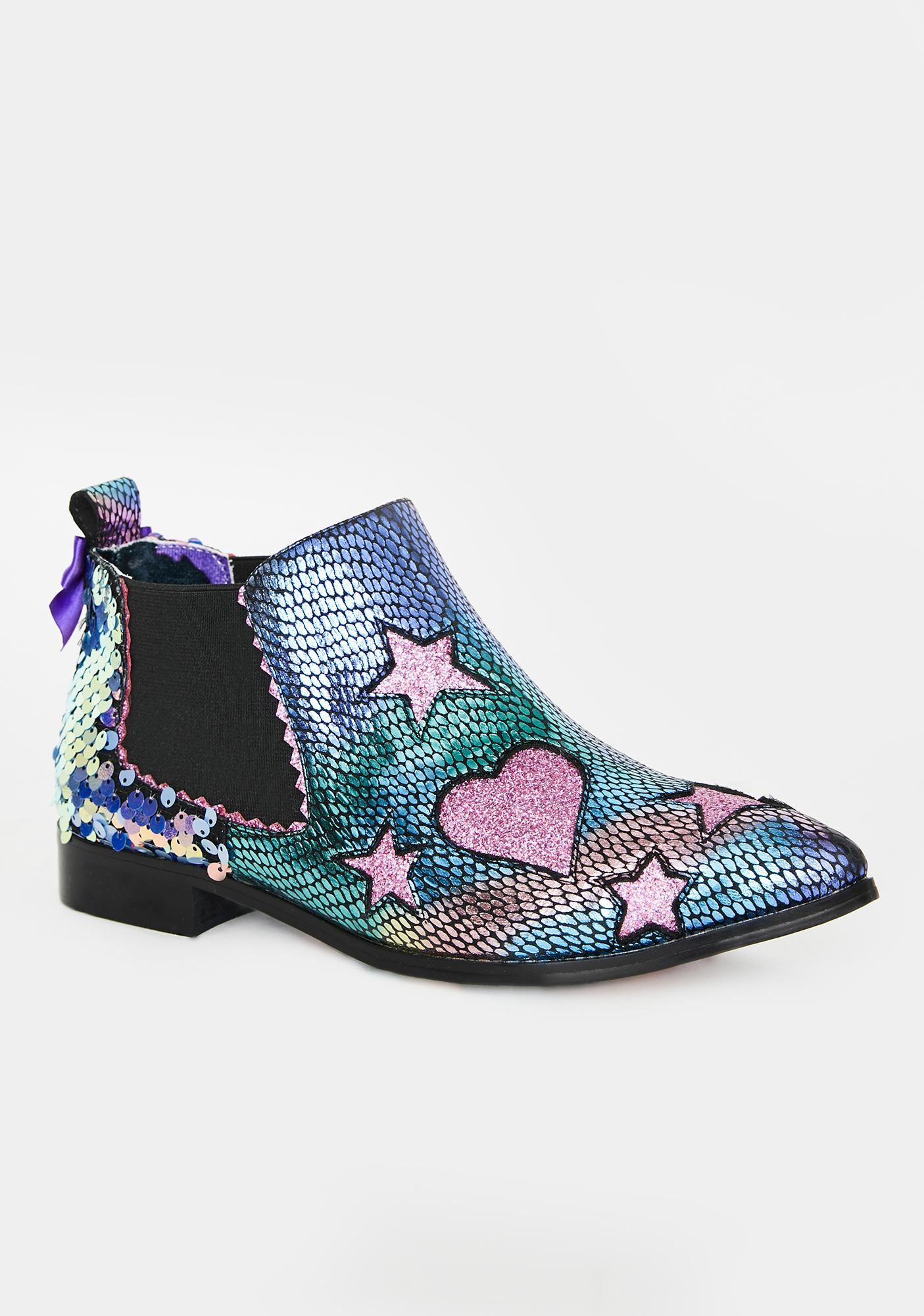 Irregular Choice Starlight Empress Ankle Boots