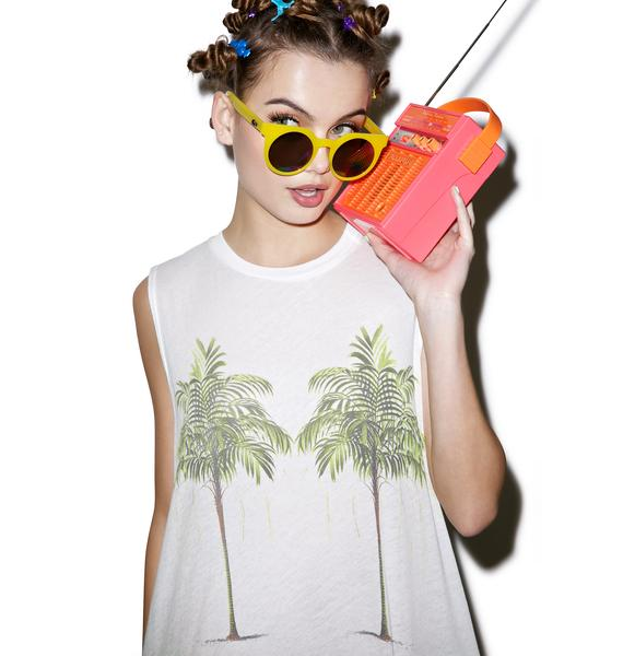 Wildfox Couture Twin Palms Building Tank