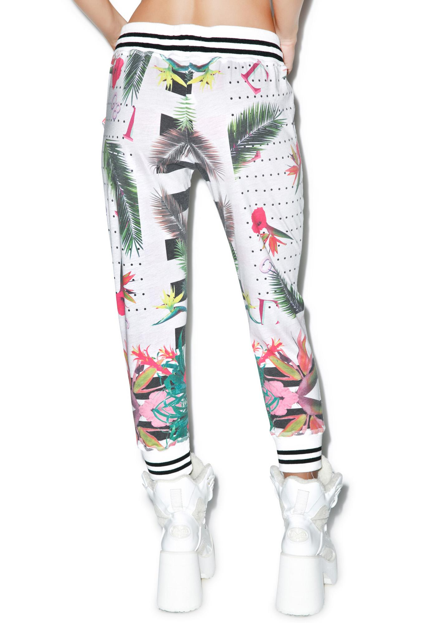 Civil Clothing Floral Capri Runners