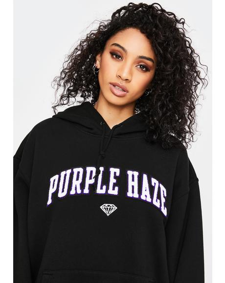 X Cam'ron Purple Haze Graphic Hoodie