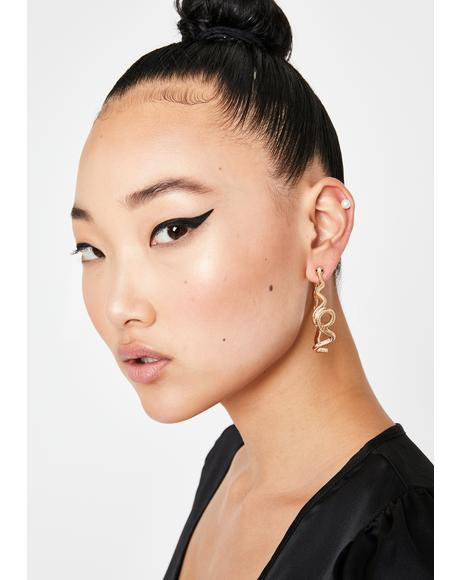 Perfect Prey Hoop Earrings