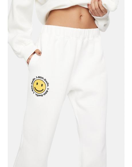 1-800-Smile Sweatpants