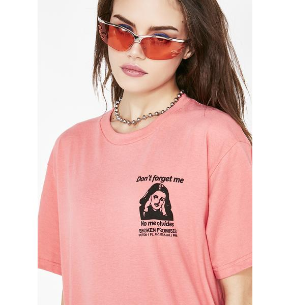 BROKEN PROMISES CO Don't Forget Me Tee