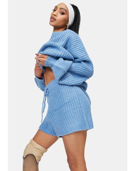 Freja Knitted Lounge Shorts