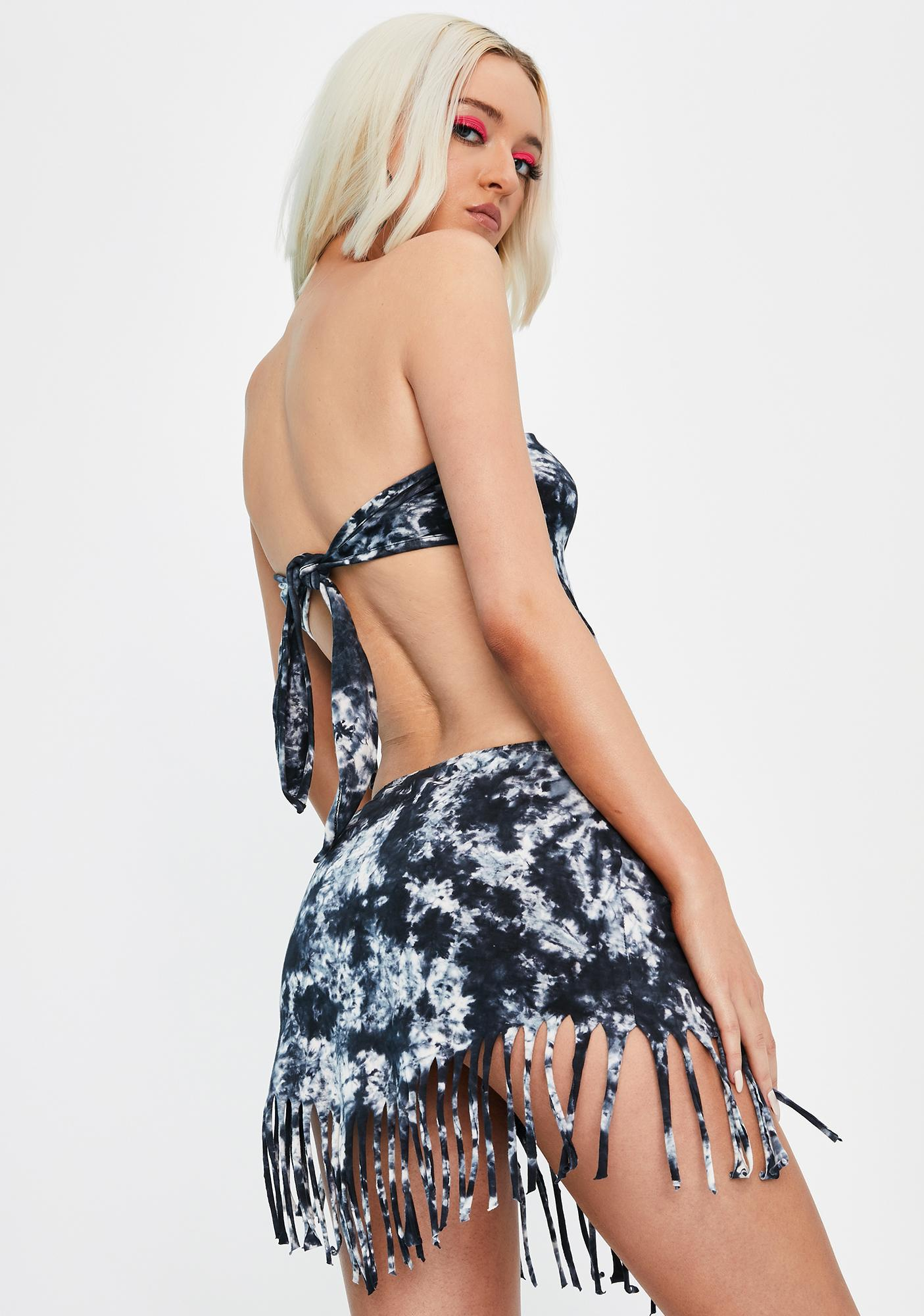 Club Exx Desert Dreaming Fringe Skirt