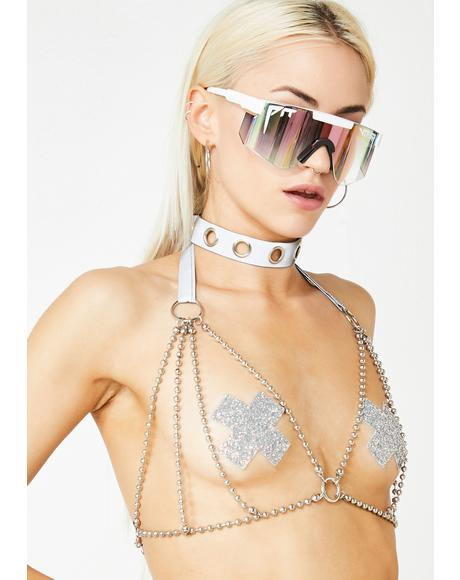 Moonlight Desires Reflective Harness