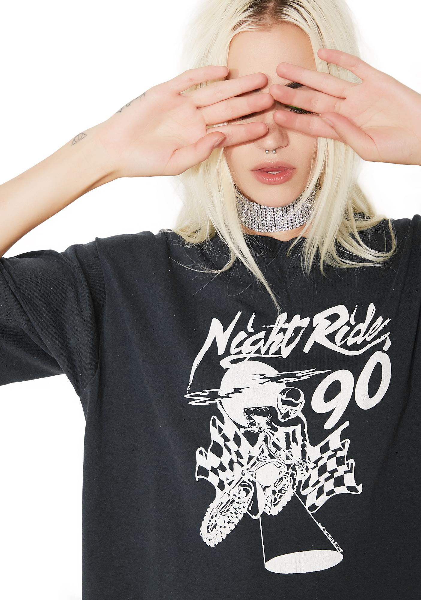 Vintage Night Rider Motocross Tee