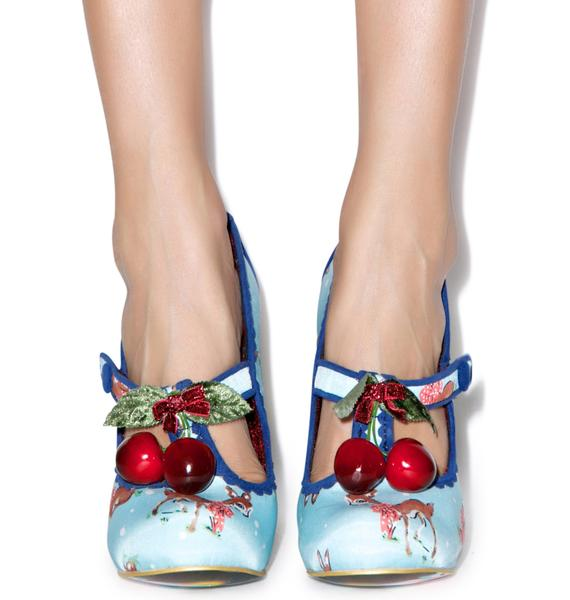 Irregular Choice Cherry Deer Heels