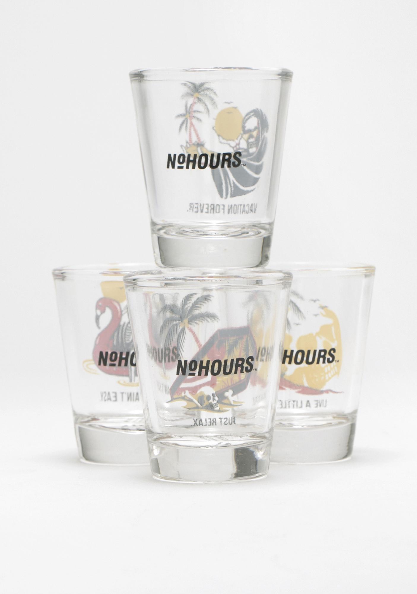 No Hours Paradise Shot Glass Set