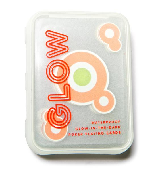 Trippin' Glow In The Dark Playing Cards