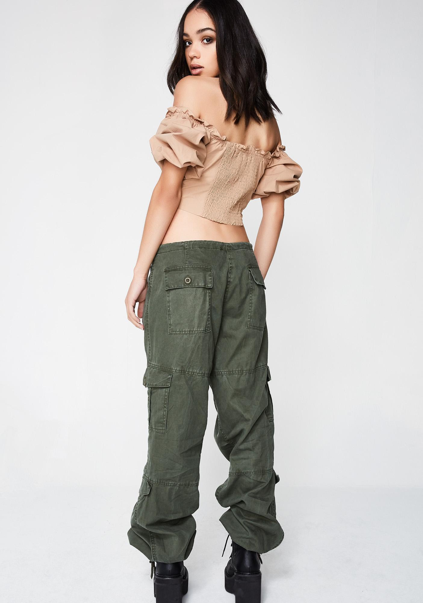 Task Force Drawstring Pants