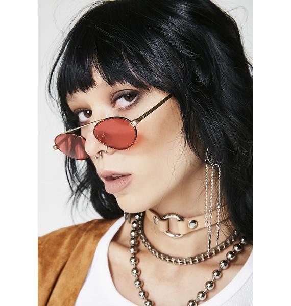 Crap Eyewear Leopard Proto Riddim Sunglasses