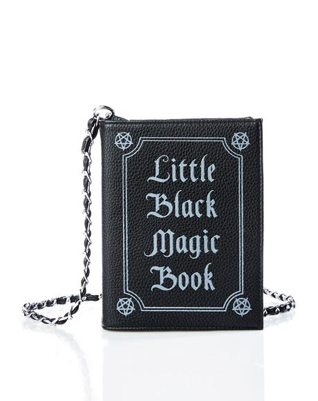 Little Black Magic Book Bag