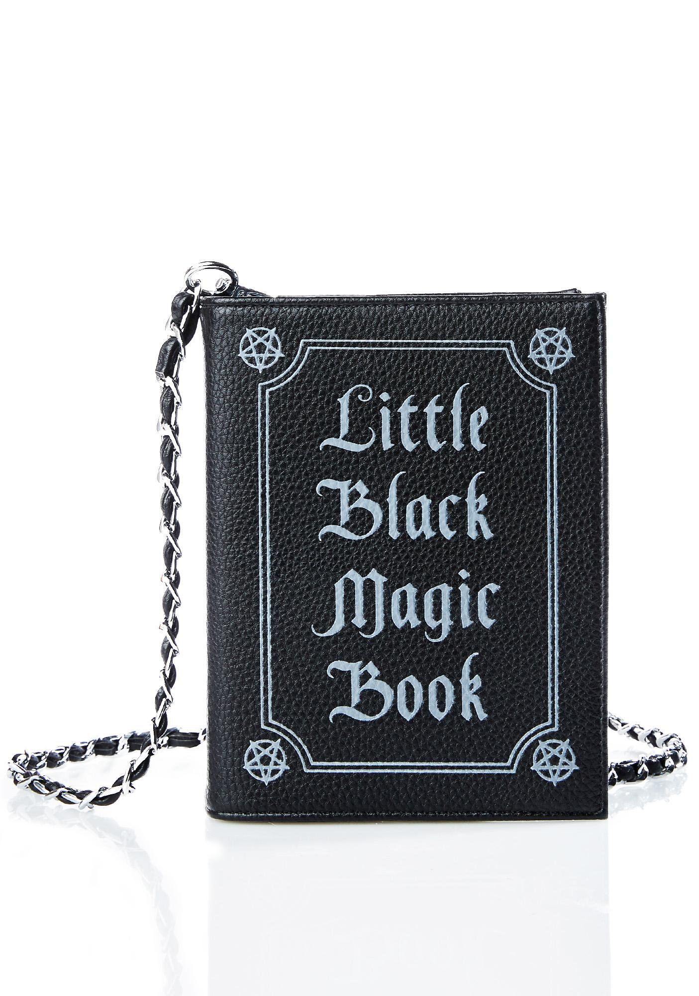 6298bb92b6a5 Current Mood Little Black Magic Book Bag