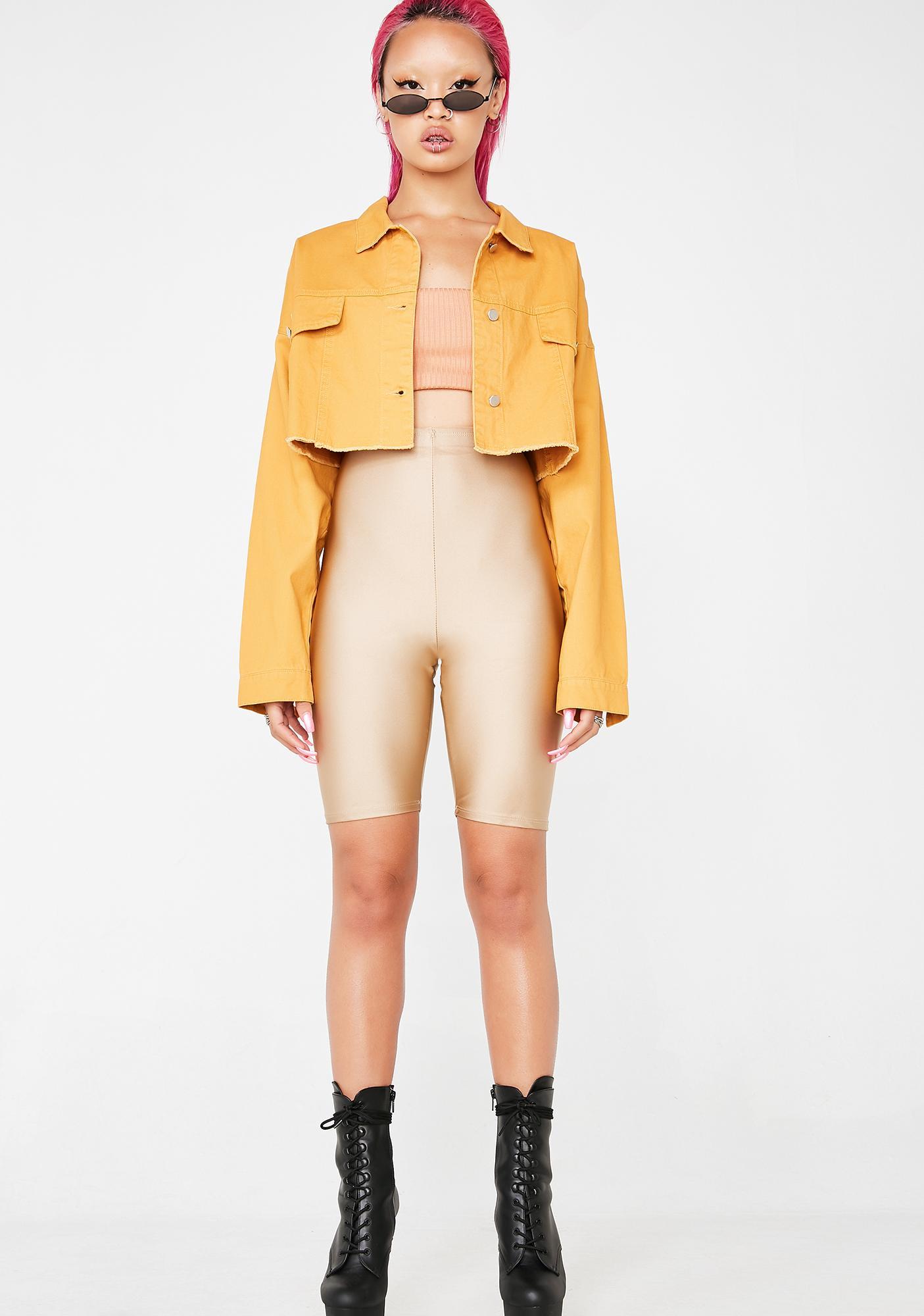 Full Of Tricks Denim Jacket